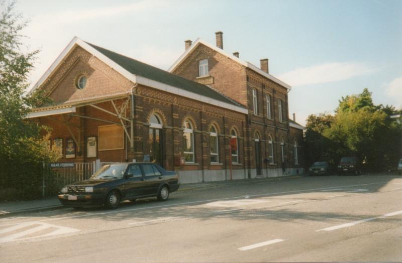 Les gares belges d 39 autrefois la gare de heverlee guy for Garage de la gare bretigny