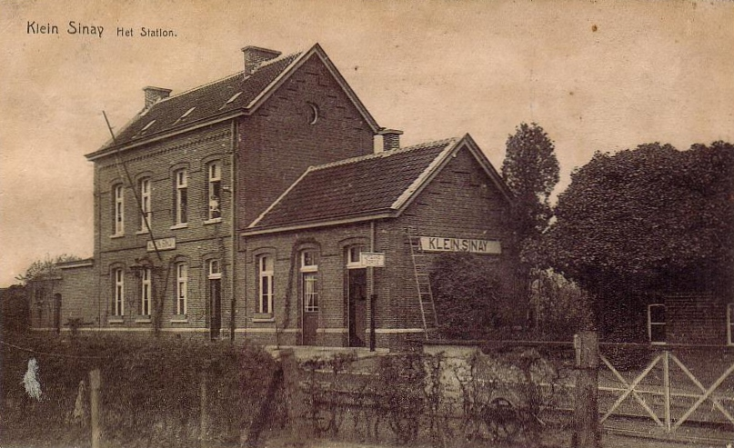 Station Klein-Sinaai