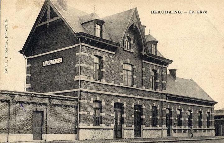 Les gares belges d 39 autrefois beauraing guy demeulder for Garage de la gare bretigny