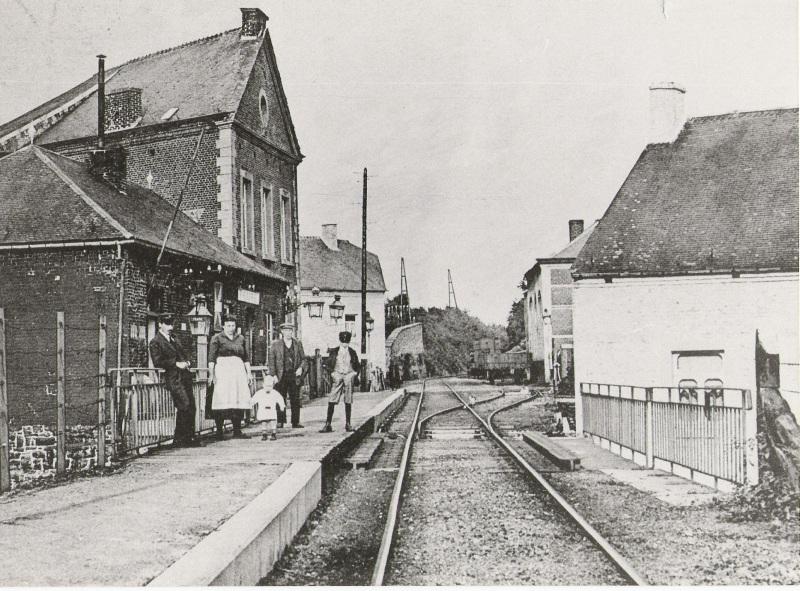 Les gares belges d 39 autrefois fraire la halte guy demeulder - La halte d autrefois ...